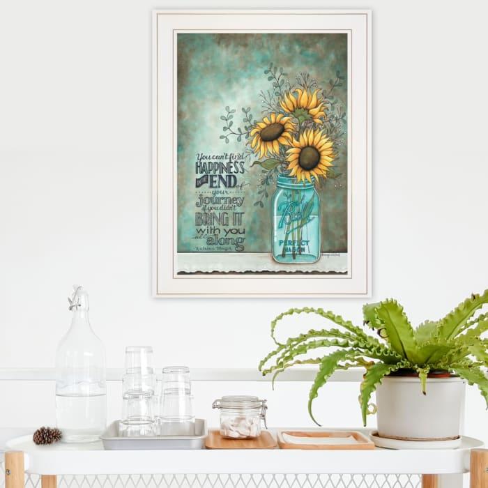 All Along  by Tonya Crawford Framed Wall Art