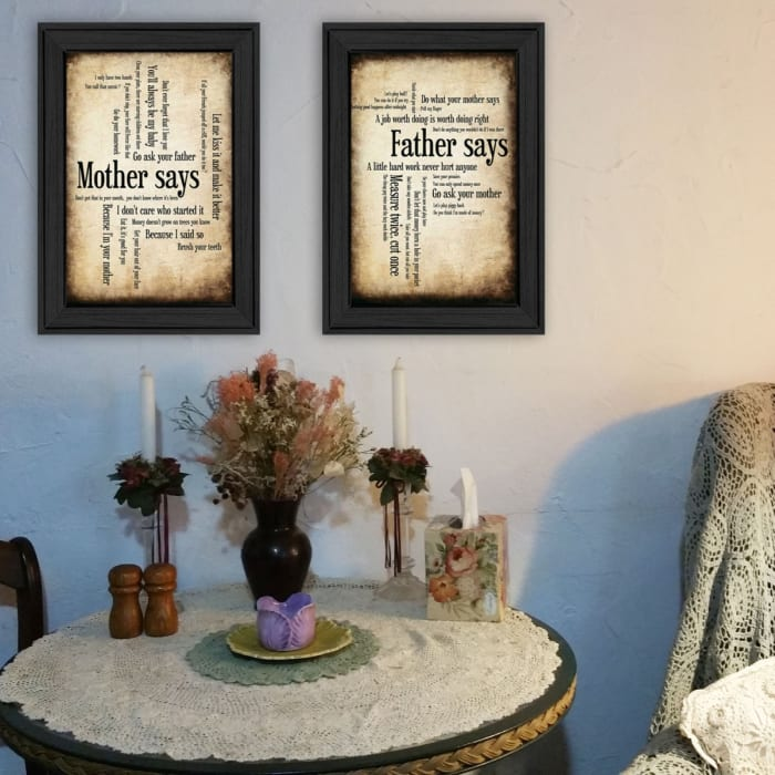 Parents Collection By Susan Ball Framed Wall Art