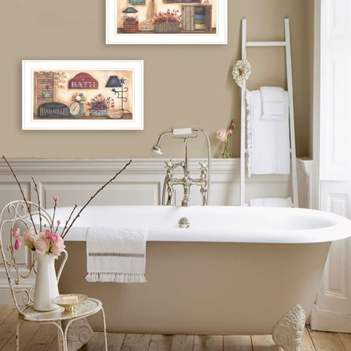 Bath Collection By Pam Britton Framed Wall Art