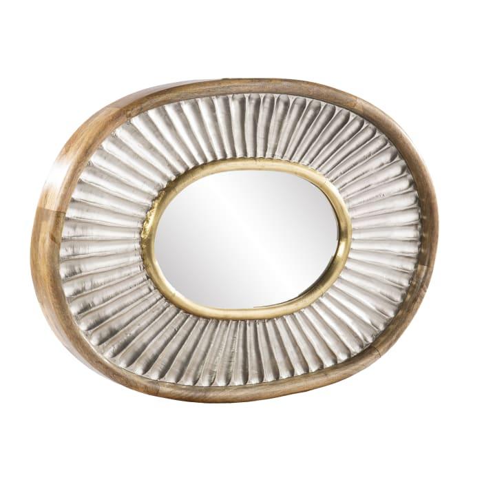Rose Oval Decorative Mirror