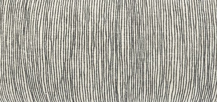 Distressed Fringe Gray and Black Pillow