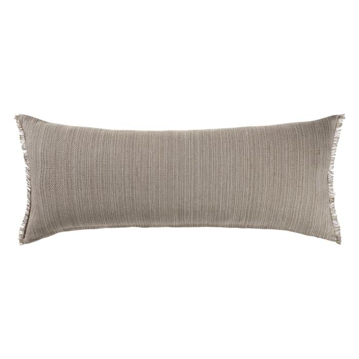Neutral Tan Lumbar Throw Pillow