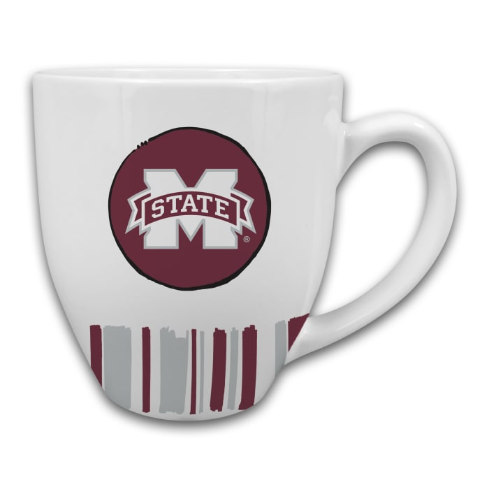 Mississippi State Heart Set of 2 Mugs