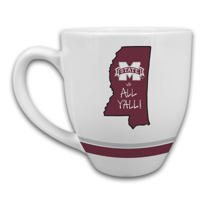 Mississippi State Set of 2 Mugs