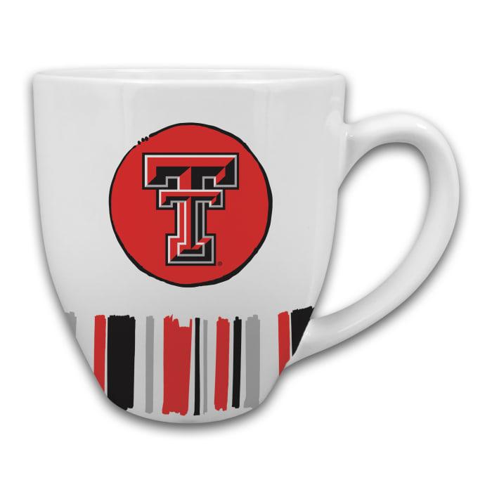 Texas Tech Heart Set of 2 Mugs