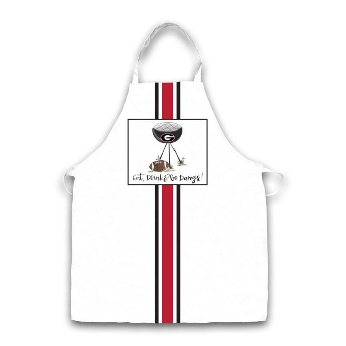 Georgia Grill Football Apron