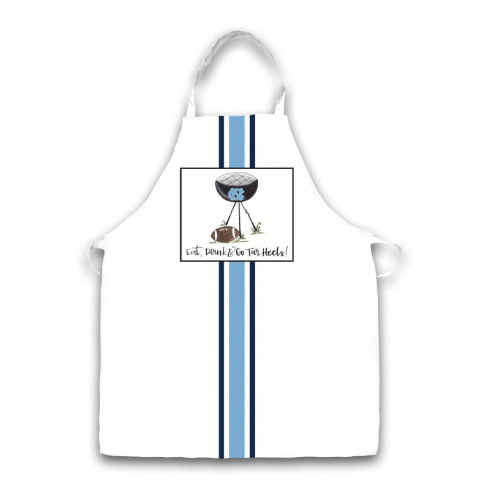 UNC North Carolina Grill Football Apron