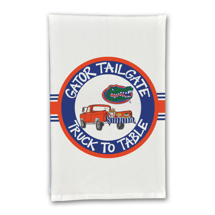 Florida Tailgate Truck Set of 2 Hand Towels