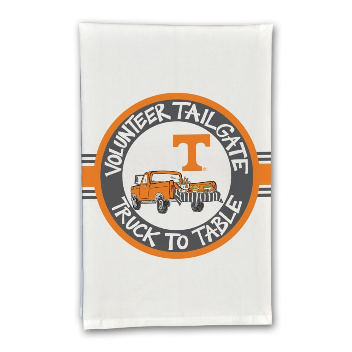 Tennessee Tailgate Truck Set of 2 Hand Towels