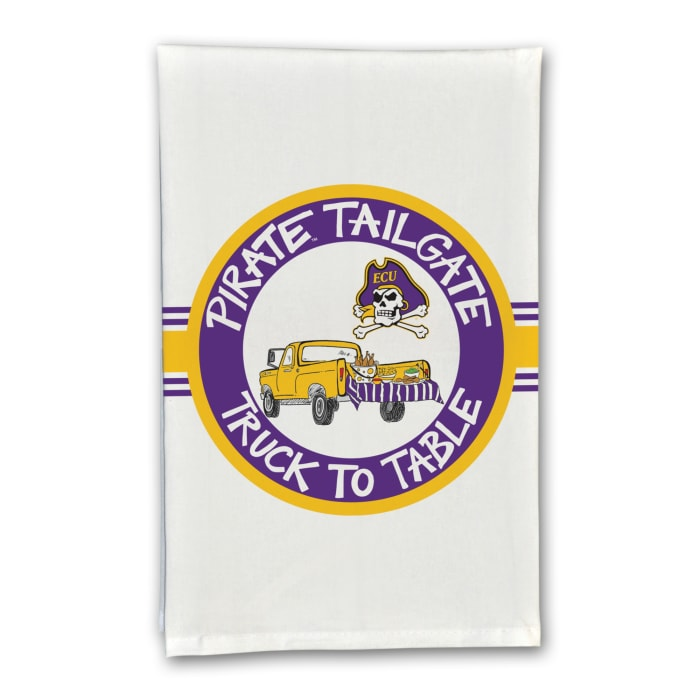 ECU Eastern Carolina Tailgate Truck Set of 2 Hand Towels