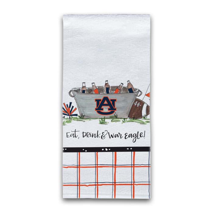 Auburn Football Set of 2 Hand Towels