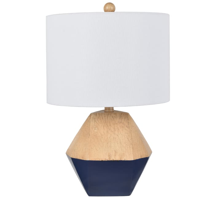 Brody Navy Blue Resin Table Lamp
