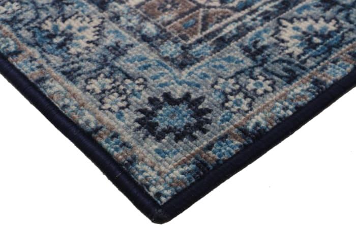 Sapphire Ankara Distressed Transitional 3' x 5' Area Rug