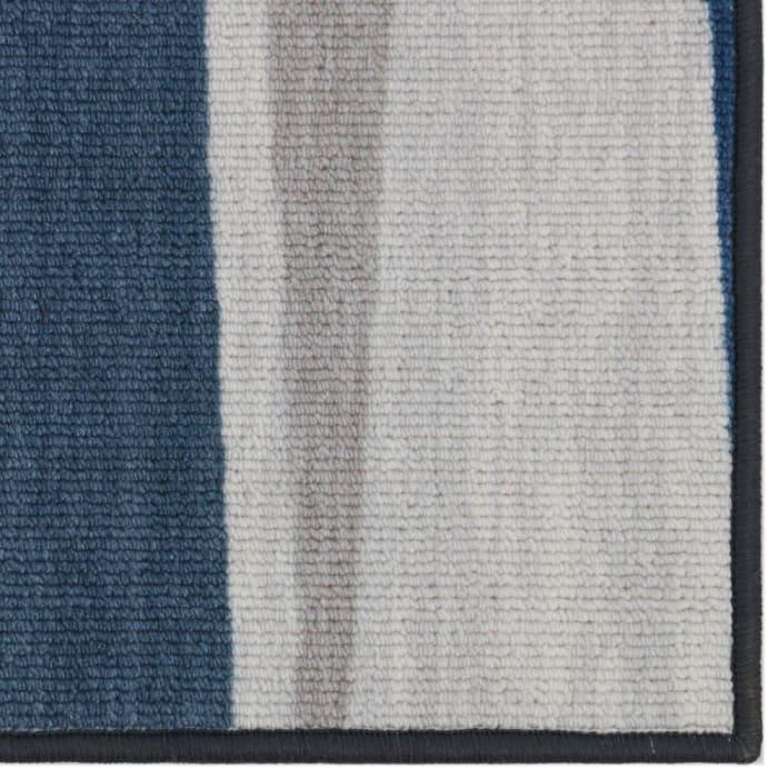 Grey Merida Mid-Century Geometric 5' x 7' Area Rug