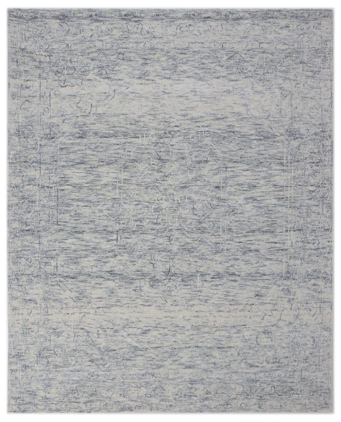 Grey Hand Tufted Stellar 8' x 10' Area Rug