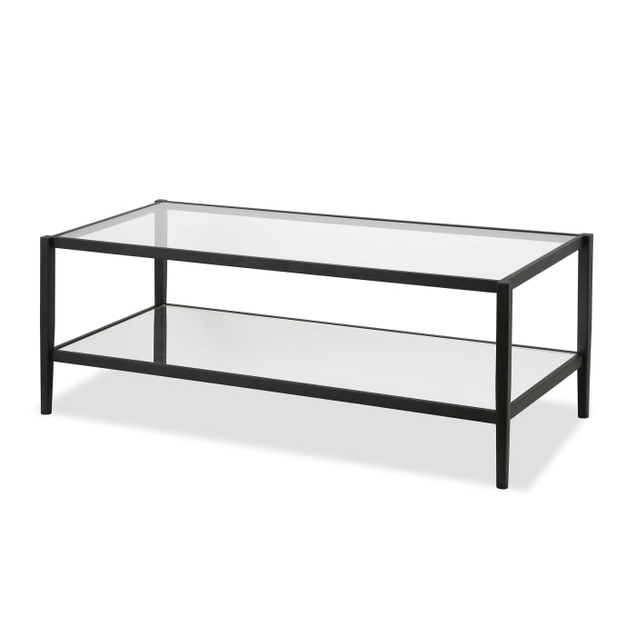 Glass Mirrored Coffee Table