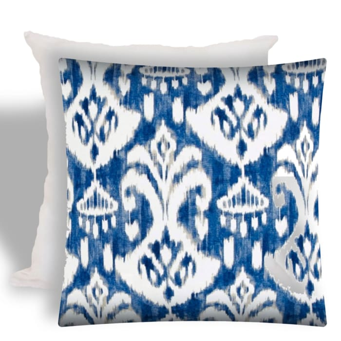 Brindle Outdoor Pillow With Removable Cover Set Of 2 Pier 1