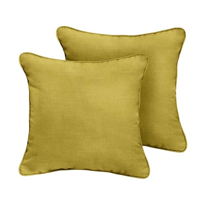 Sunbrella Citrus Set of 2 Outdoor Pillows