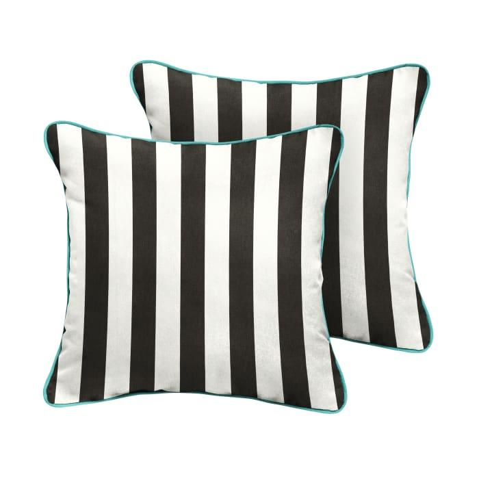 Sunbrella Classic/Aruba Set of 2 Outdoor Pillows