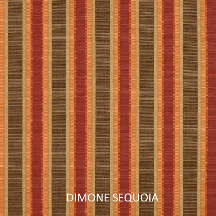 Sunbrella Dimone Sequoia Set of 2 Outdoor Square Pillows
