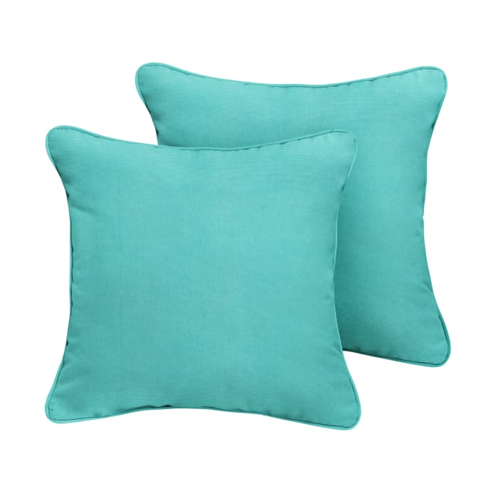 Sunbrella Canvas Aruba  Set of 2 Outdoor  Pillows