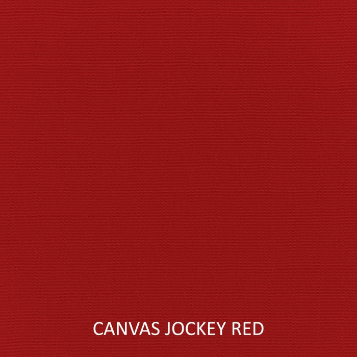 Sunbrella Canvas Jockey Red Set of 2 Outdoor Lumbar Pillows