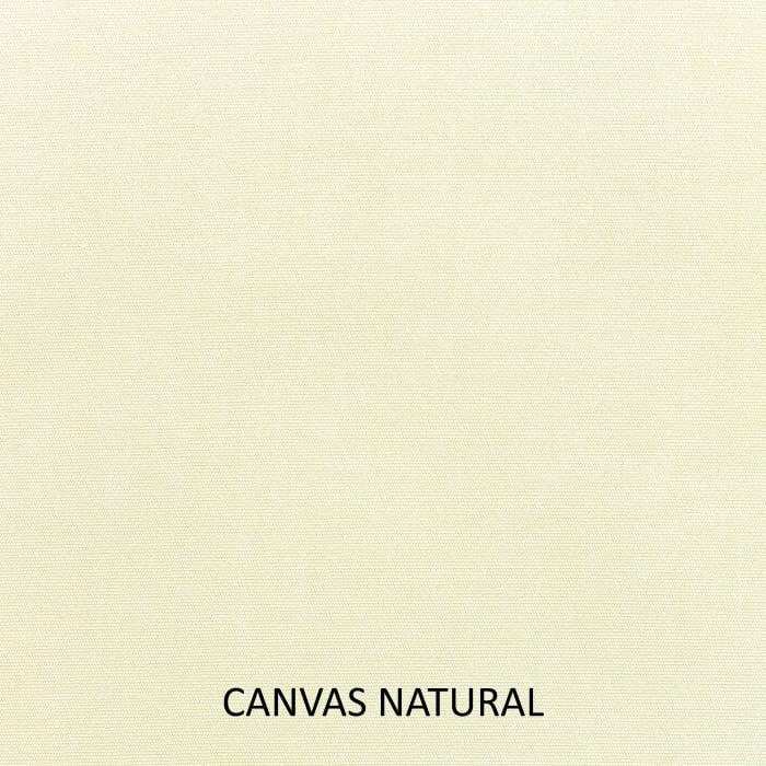 Sunbrella Corded Canvas Natural/Canvas Rust Set of 2 Outdoor Lumbar Pillows