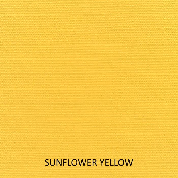 Sunbrella Canvas Natural/Sunflower Yellow Set of 2 Outdoor Lumbar Pillows