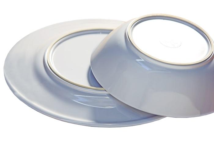 Regatta Set of 6 Non-Slip Melamine Soup Bowls