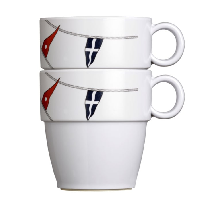 Regatta Set of 6 Melamine Mugs