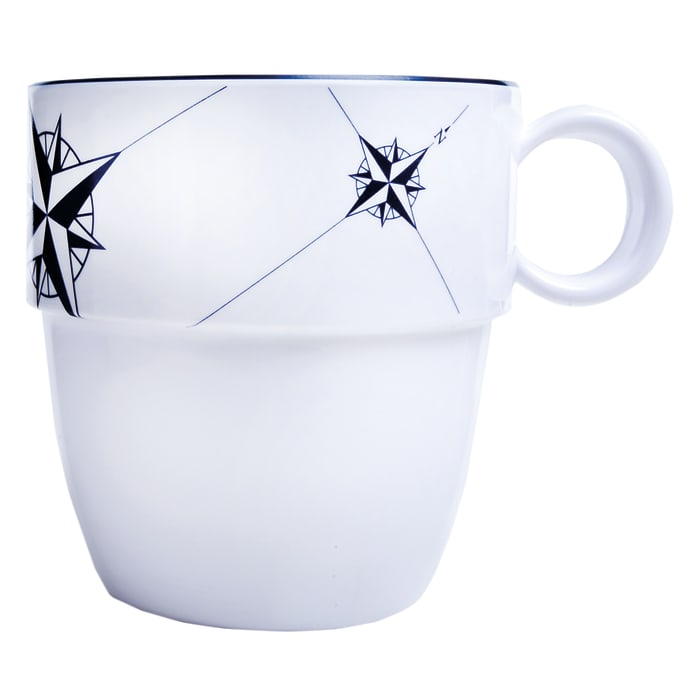 Northwind Set of 6 Melamine Mugs