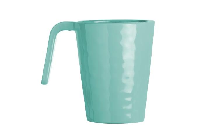 Aqua Harmony Set of 6 Melamine Mugs