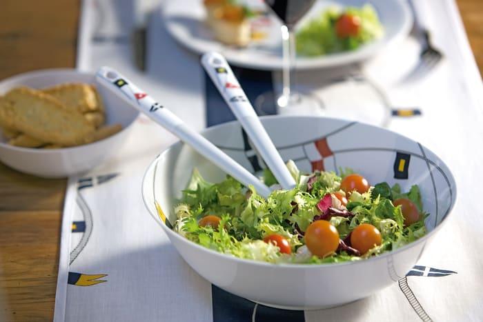 Regatta Salad Bowl & Cutlery 3 Piece Set
