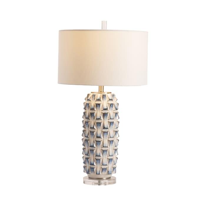 Hunter Ceramic Blue Table Lamp