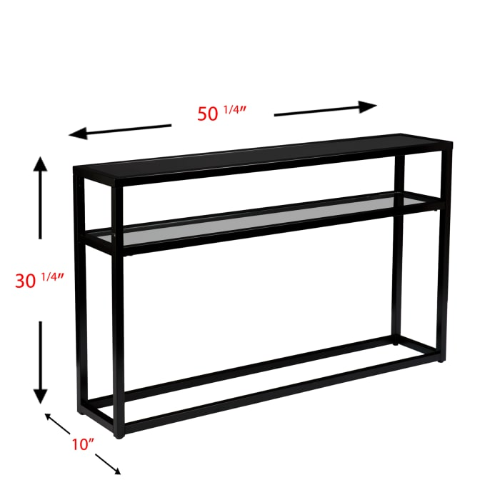 Rayleigh Console Table Black