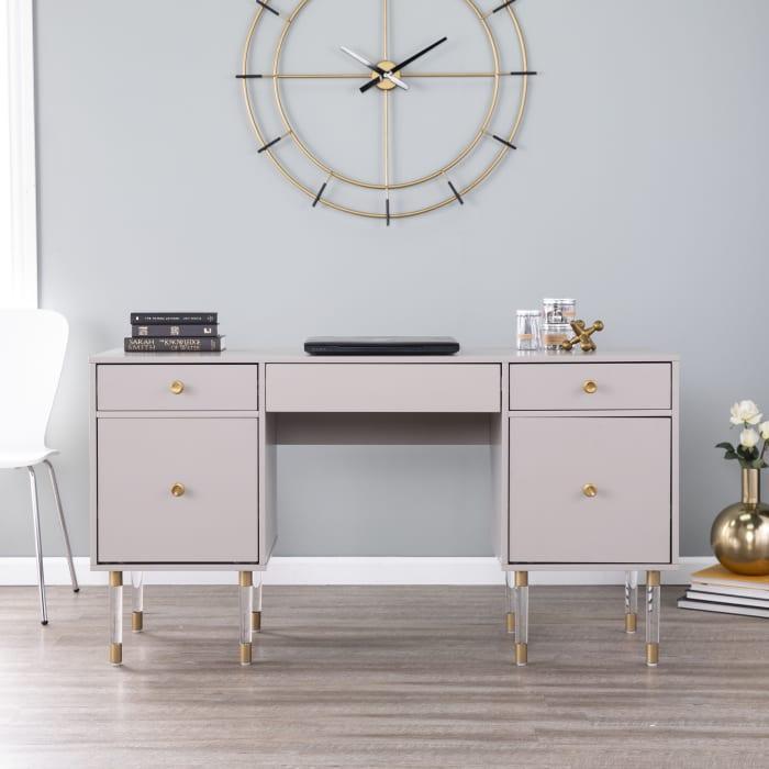 Taunton Desk Gray