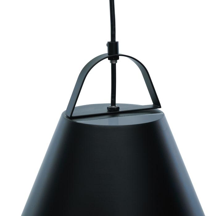 Cone Matte Black Pendant Lamp