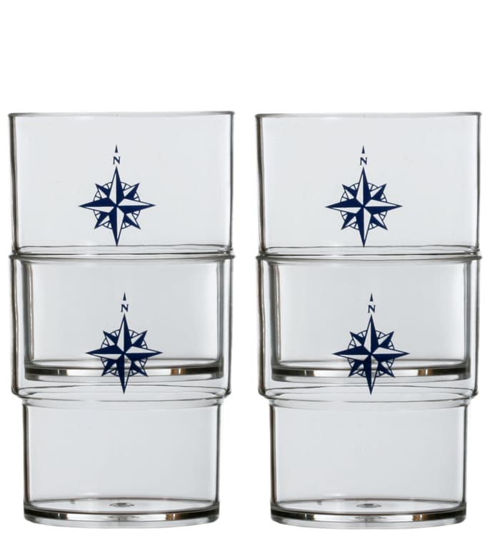 Northwind Set of 12 Stackable Glasses