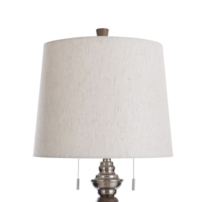 Round Moulded Accents Table Lamp