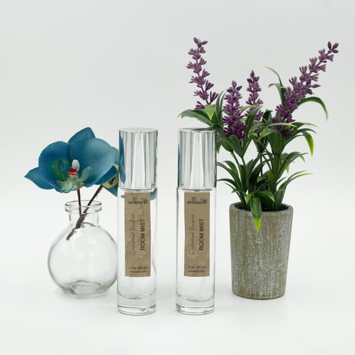 Enchanted Bouquet Essential Oil Room Mist, Luxury Fragrance Blend