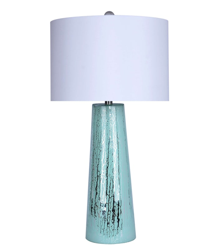 Root Plated Icy Morn Inside Glass Set of 2 Table Lamps