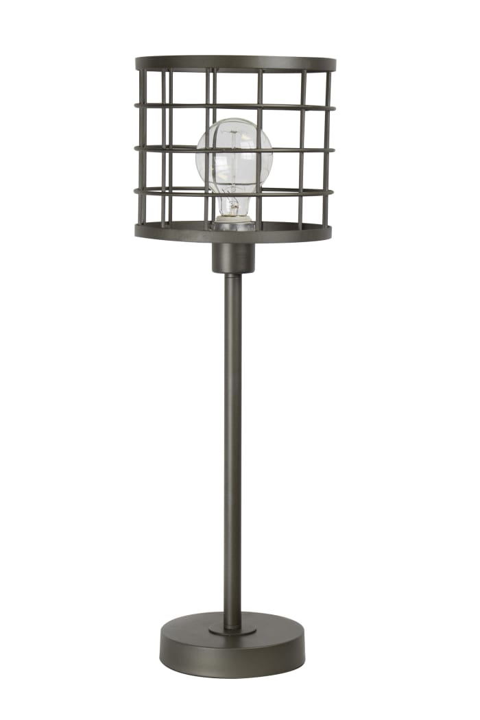 Industrial Cast Iron Table Lamp