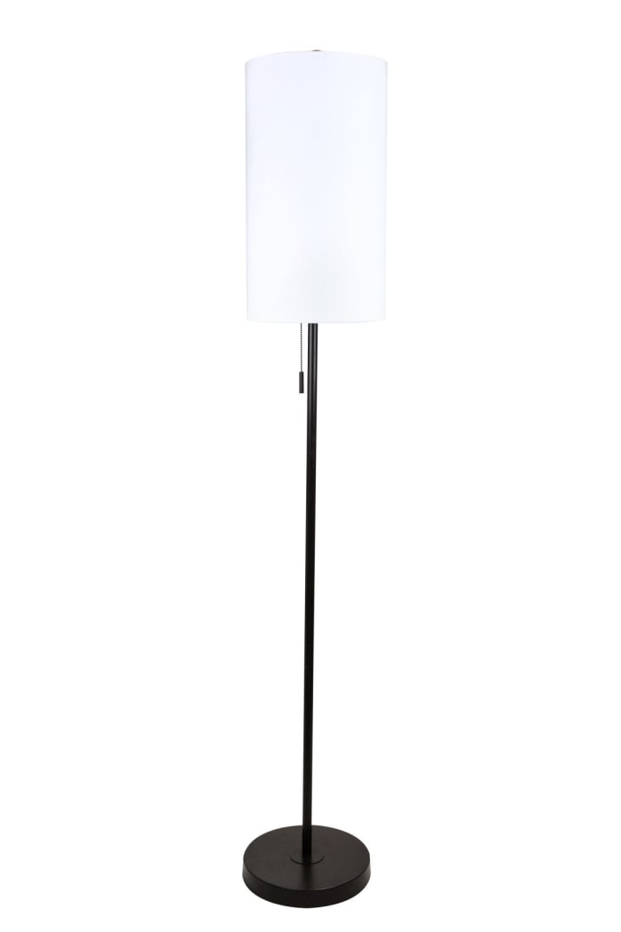 Oil Bronze Metal Stick Floor Lamp