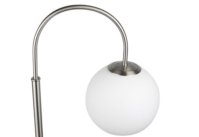 Brushed Nickel Arc Floor Lamp