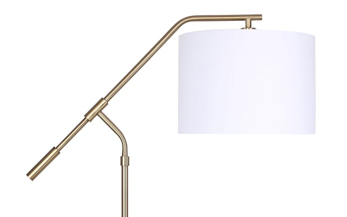 Royal Gold Task with Slim-Line Angular Design Floor Lamp