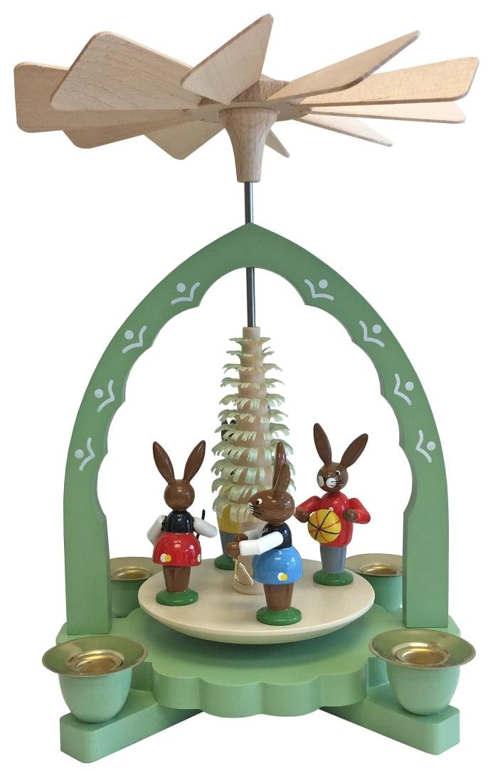 Richard Glaesser Bunny Children Pyramid