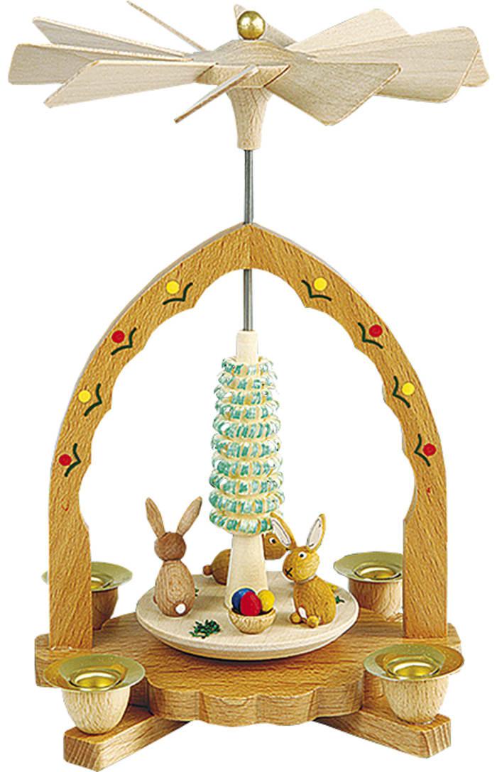 Richard Glaesser Rabbit Family Pyramid