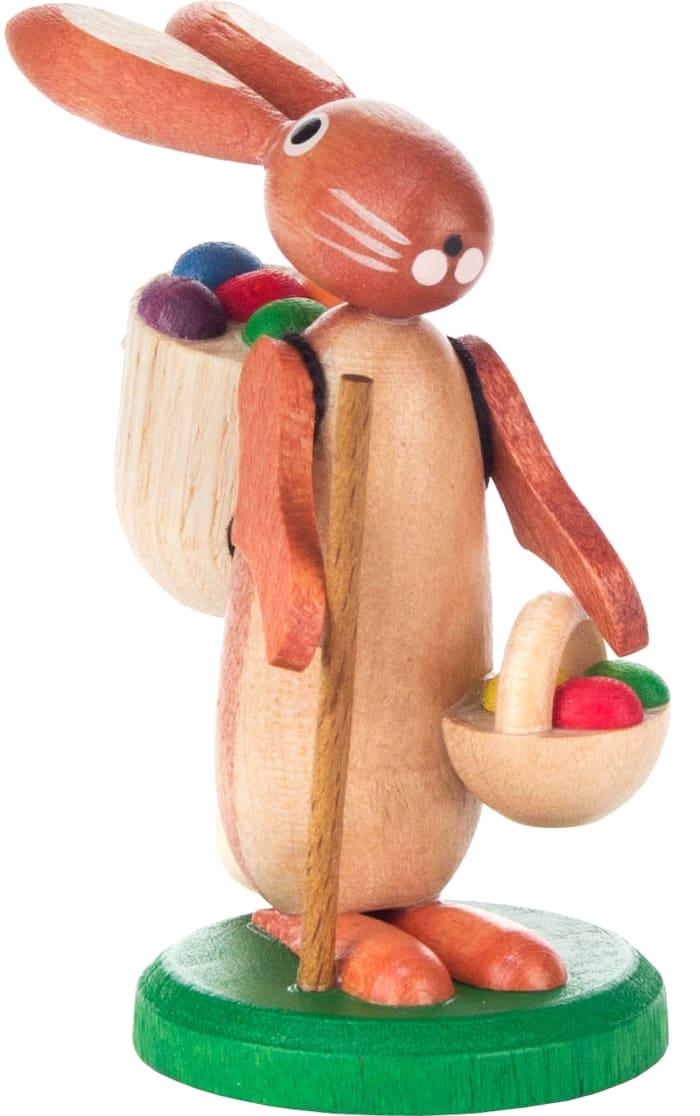 Dregeno Rabbit with Baskets Easter Figure