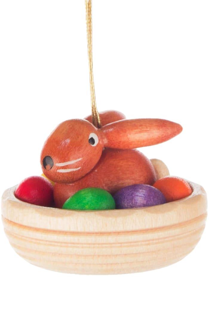 Dregeno Rabbit in Nest String Easter Ornament