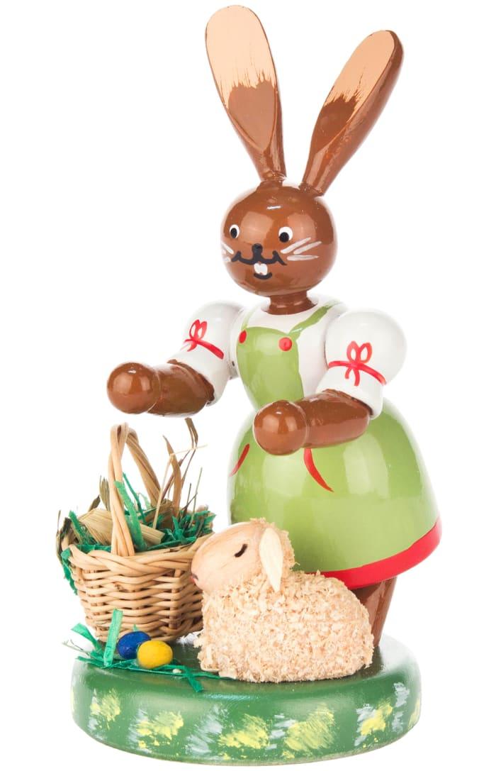 Dregeno Rabbit with Lamb Easter Figure